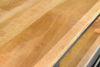 Afbeeldingen van CARMIN' Tumpa Boekenkast 120 cm Zwart Mangohout
