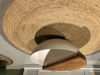 Afbeeldingen van CARMIN' Santa Salontafel 76 cm Bruin/Wit Mangohout