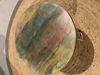 Afbeeldingen van CARMIN' Ana Bijzettafel 45 cm Wit Reclaimed
