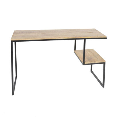Afbeeldingen van CARMIN' Kansas Side-table 120 cm Zwart Mangohout