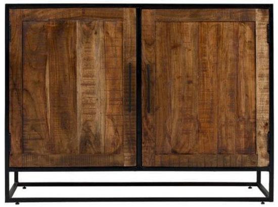 Afbeeldingen van CARMIN' Oklahoma Opbergkast Mangohout 120 cm