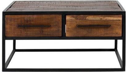 Afbeeldingen van CARMIN' Oklahoma Salontafel 80 cm Mangohout