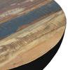 Afbeeldingen van CARMIN' Orlando Salontafel 70 cm Zwart Mangohout