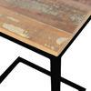 Afbeeldingen van CARMIN' Reno Bijzettafel 30 cm Zwart Mangohout