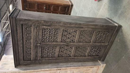Afbeeldingen van CARMIN' Maayke Indische Kast 186 cm Mangohout