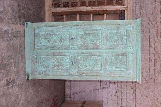 Afbeeldingen van Carmin' Indische Kast Astrid 214 cm