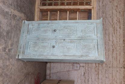 Afbeeldingen van Carmin' Indische Kast Tom 215 cm