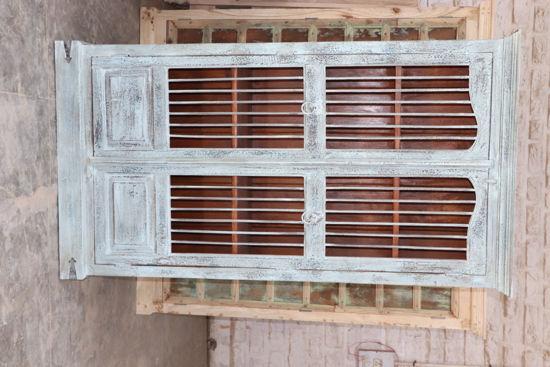 Afbeeldingen van Carmin' Indische Kast Niek 210 cm
