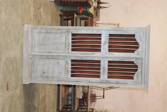 Afbeeldingen van Carmin' Indische Kast Stijn 208 cm